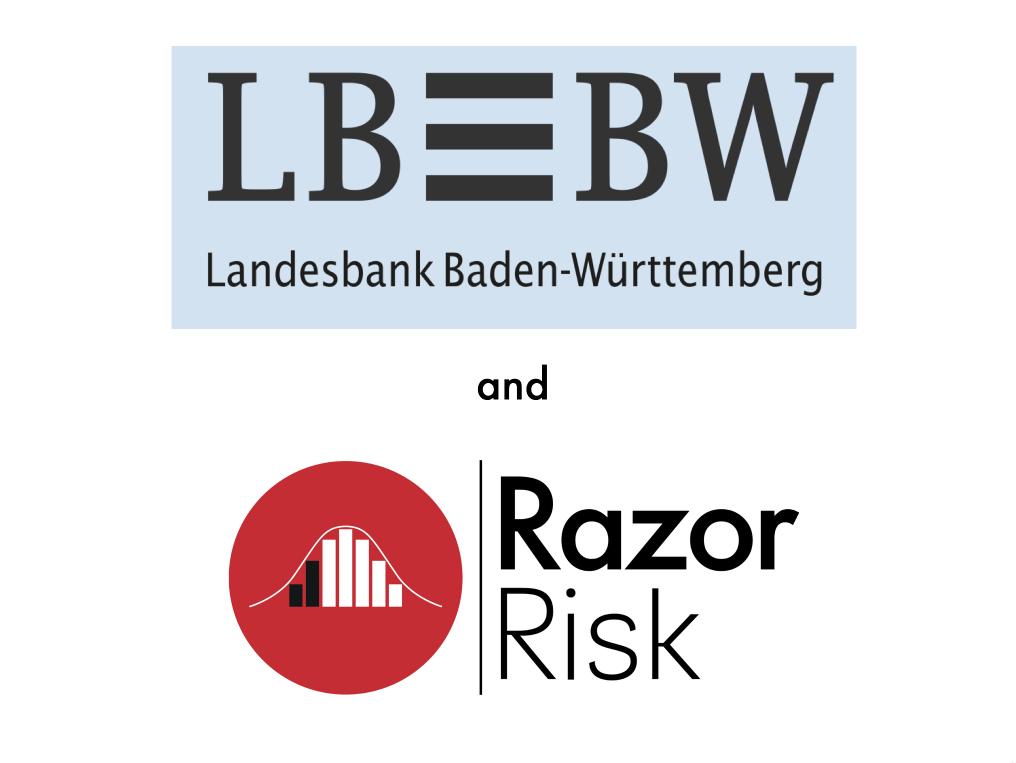 LBBW and Razor Logos